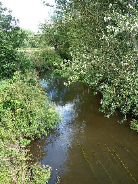 River Roden below the Ercall Mill bridge