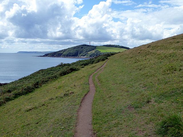 Path above Southground Cliffs