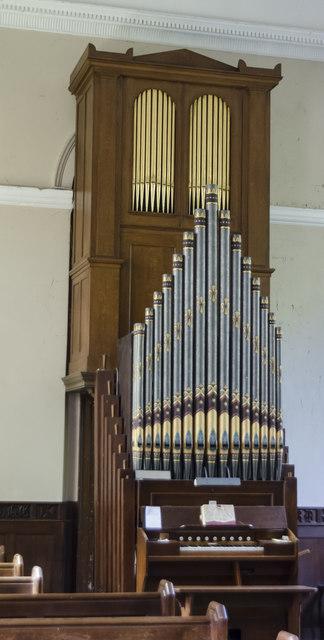 Organs, Church of the Holy Rood, Ossington