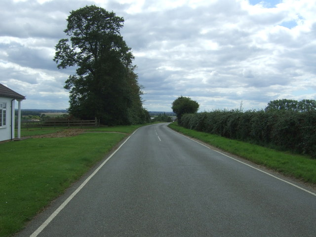 Aldreth Road towards Aldreth