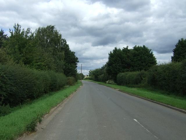 Aldreth Road towards Haddenham