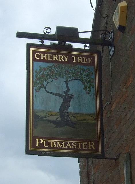 Sign for the Cherry Tree, Haddenham