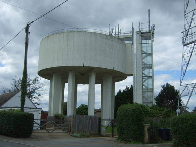 Water tower, Haddenham