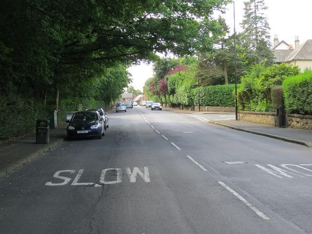 Park Avenue in Roundhay, Leeds