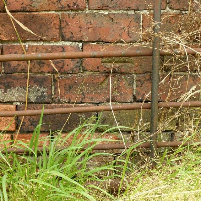 Bench mark, Upper Hagg Farm, Dale Abbey