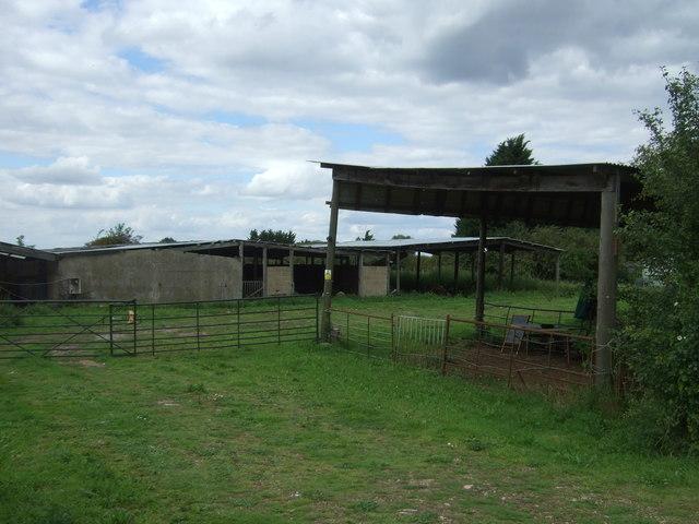 Farm buildings off Twenty Pence Road (B1049)