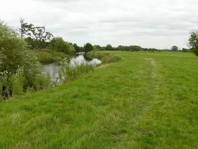 River Derwent below Borrowash Bridge