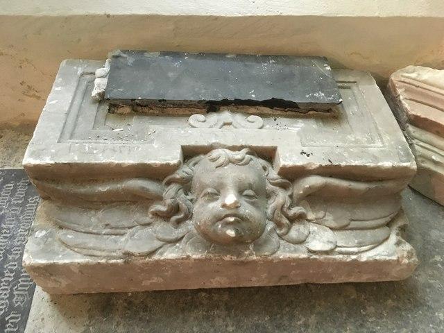 Cherub on the Tomb