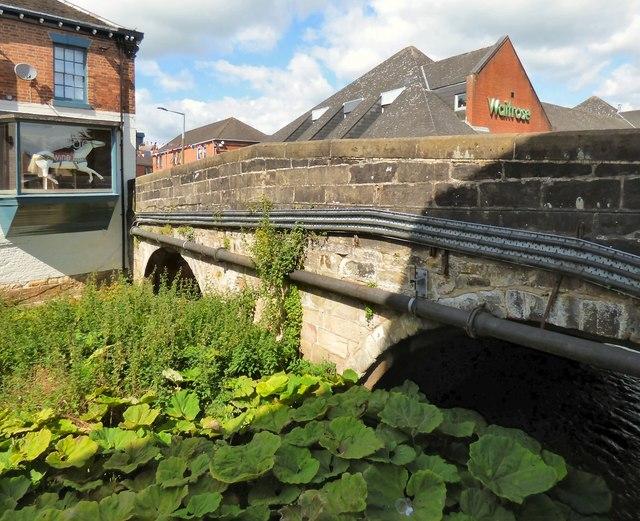 Bridge over Henmore Brook