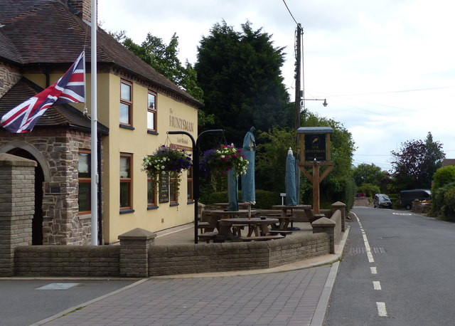 The Huntsman at Little Wenlock