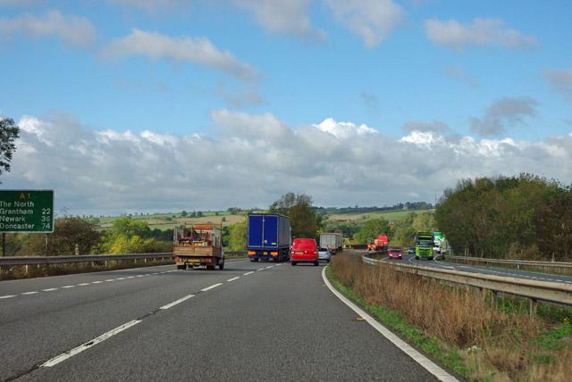 A1 northbound