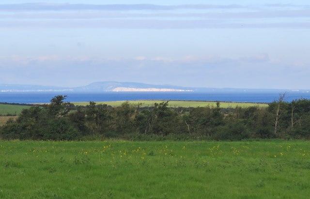View towards Dorset coast and Swanage