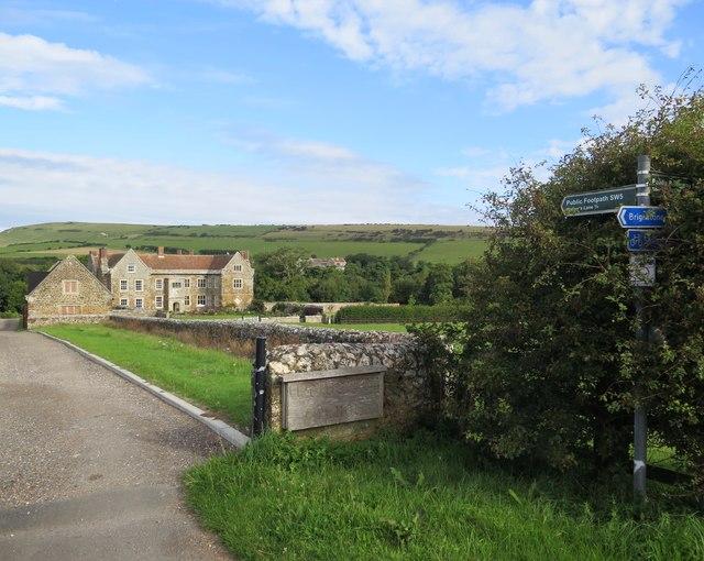 Wolverton Manor near Shorwell