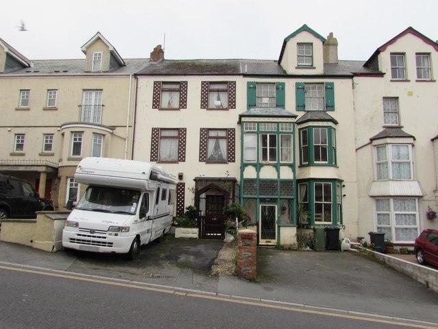 Three-storey houses, Northfield Road, Ilfracombe