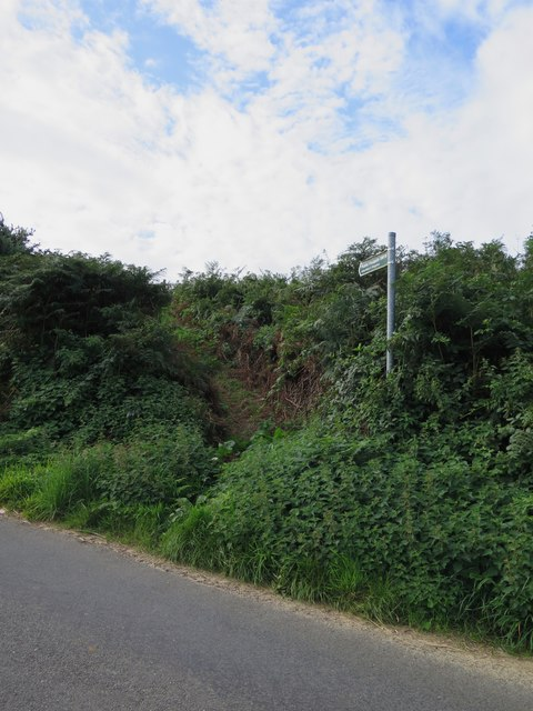 Public footpath SW19 from Shorwell to Kingston and Atherfield