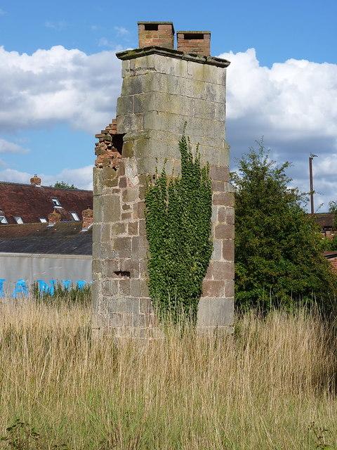 The sad remains of Rodington Hall