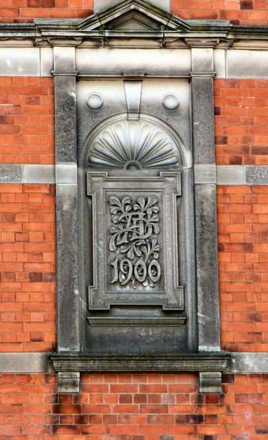 Former Ashbourne Council Offices; architectural detail