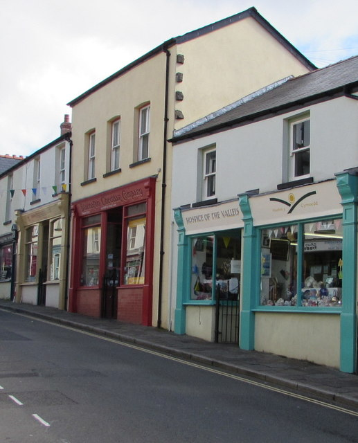 Hospice of the Valleys charity shop, Blaenavon
