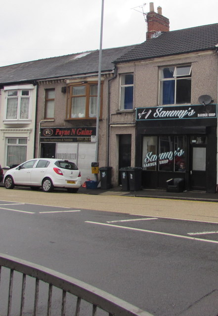 Sammy's Barber Shop, Church Road, Newport