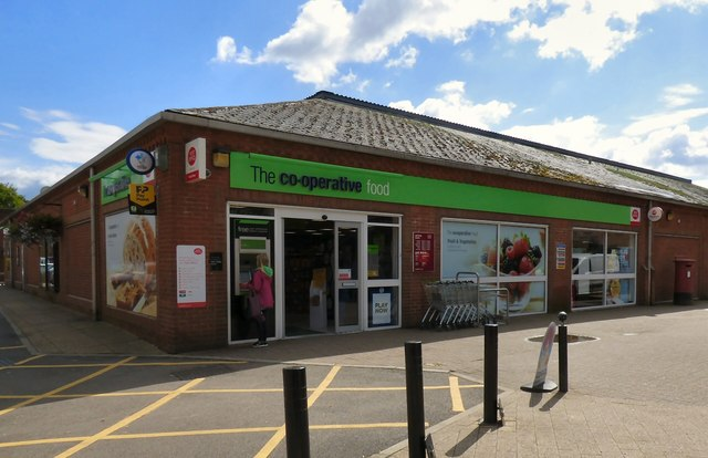 The co-operative food store & Ashbourne Post Office