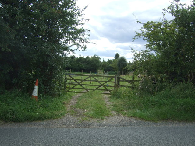 Gated track off Beach Road