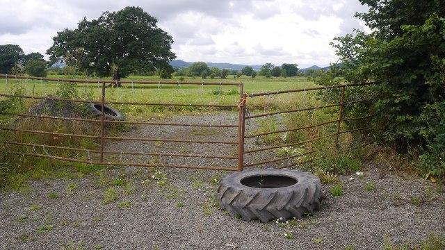 A fortified gate, Marden