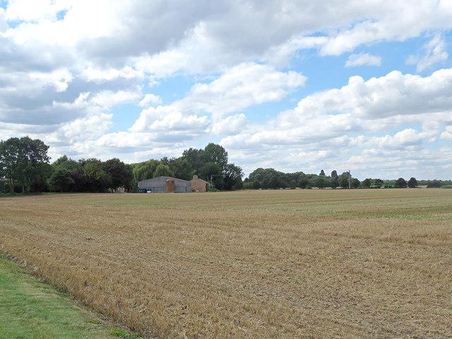 Towards Hawk Mill Farm