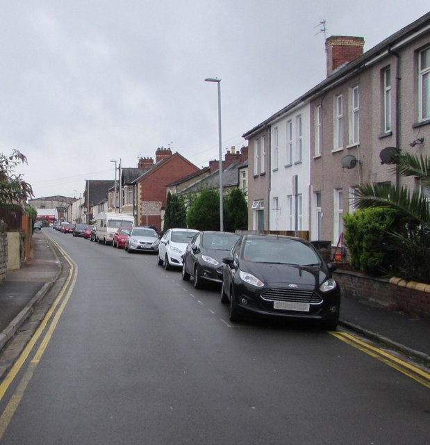 Southeast part of Duckpool Road, Newport