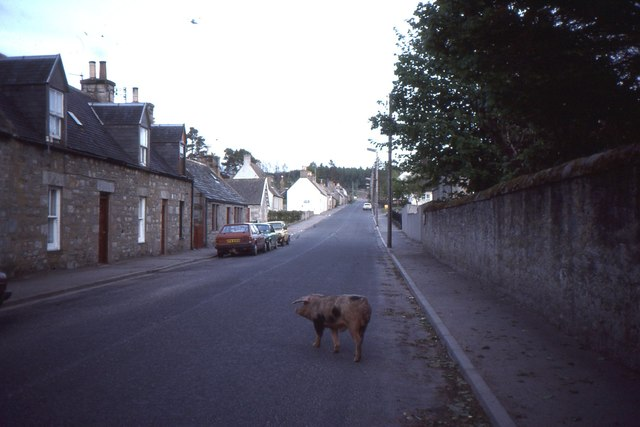 Main Street, Tomintoul