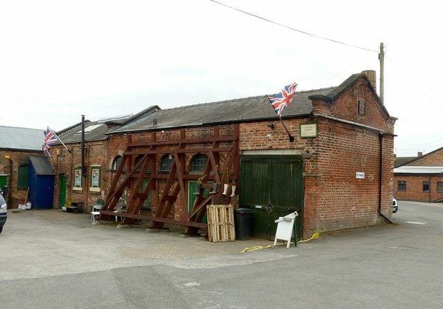Draycott Mills, cotton processing building