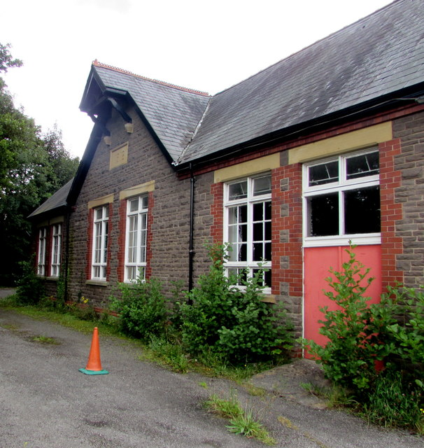 Former canalside primary school, Gilwern