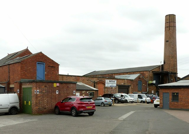 Draycott Mills, the main yard