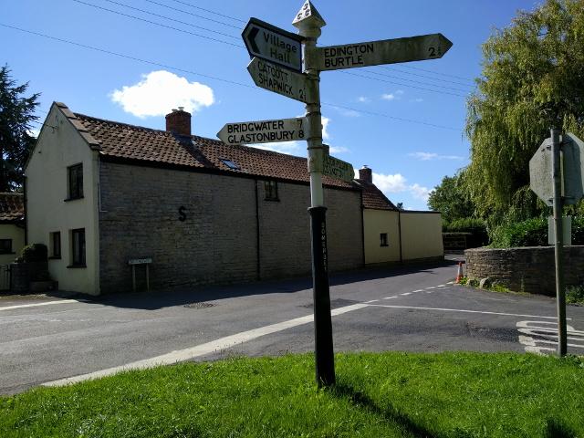 Signpost at Edington