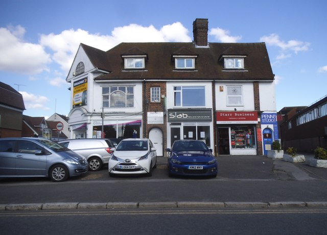 Shops on Station Road, Beaconsfield