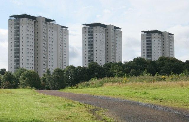 Tower blocks on Kestrel Road