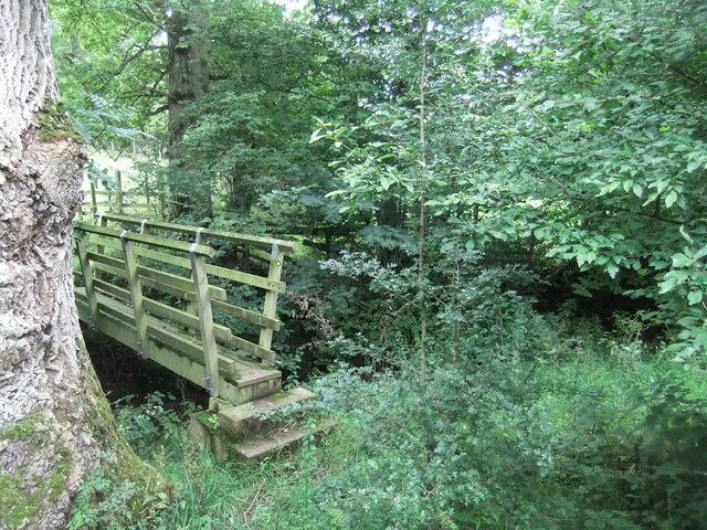Footbridge, Greengill Sike