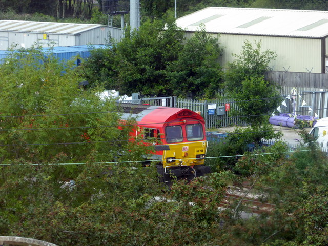 China clay train at Par