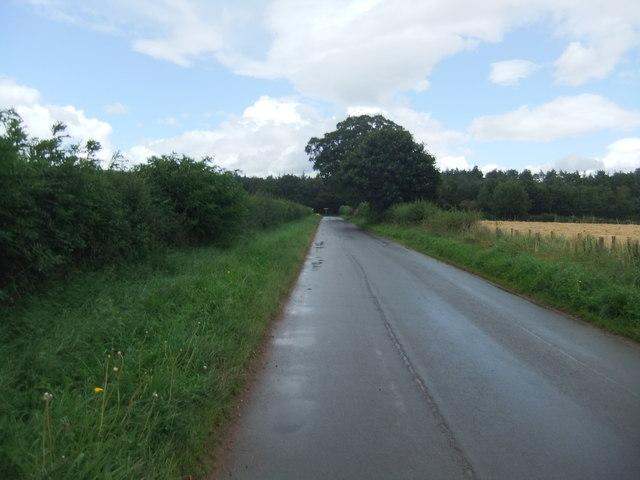 Road north of Commonholme Bridge
