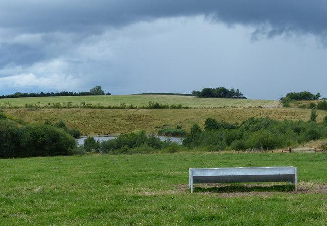 Small lake near Braggers Hill