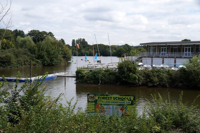 Watersports centre at Ham Lands