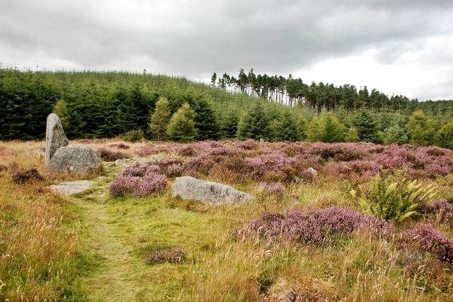 Whitehill recumbent stone circle