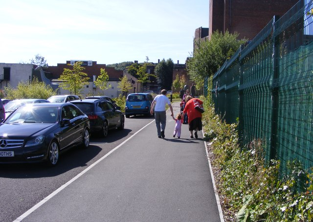 Zoo Car Park Path