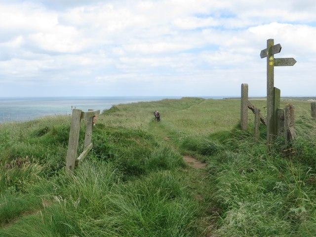 The Headland Way footpath