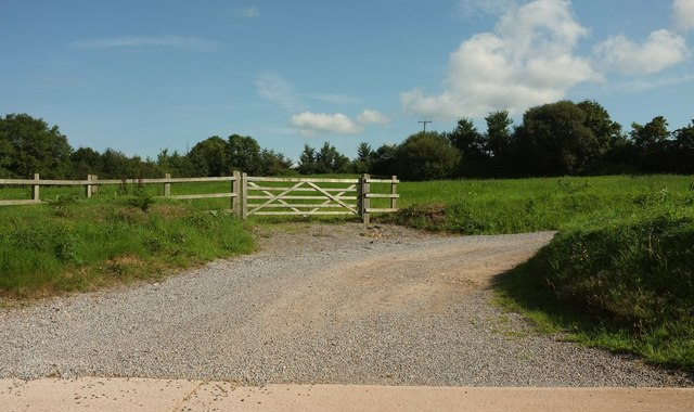 Entrance to Ford Farm