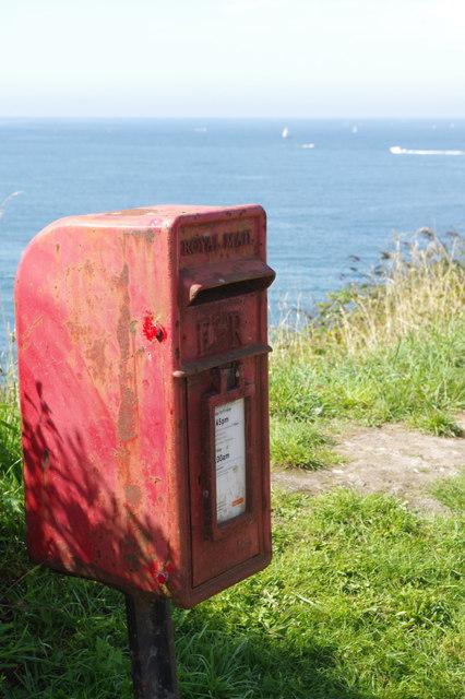 Postbox at Bovisand