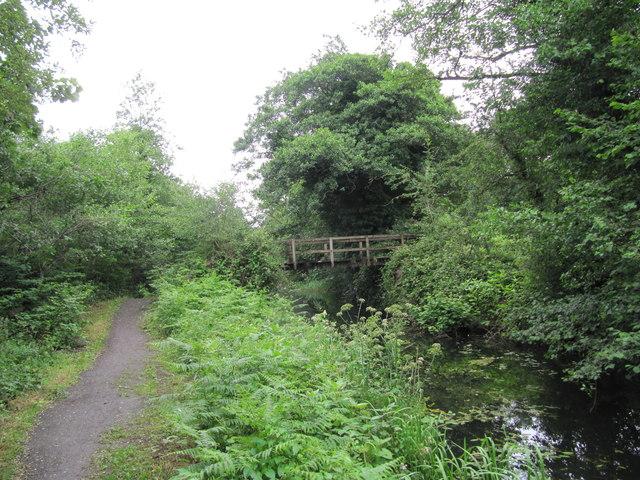 Footbridge across the Neath Canal