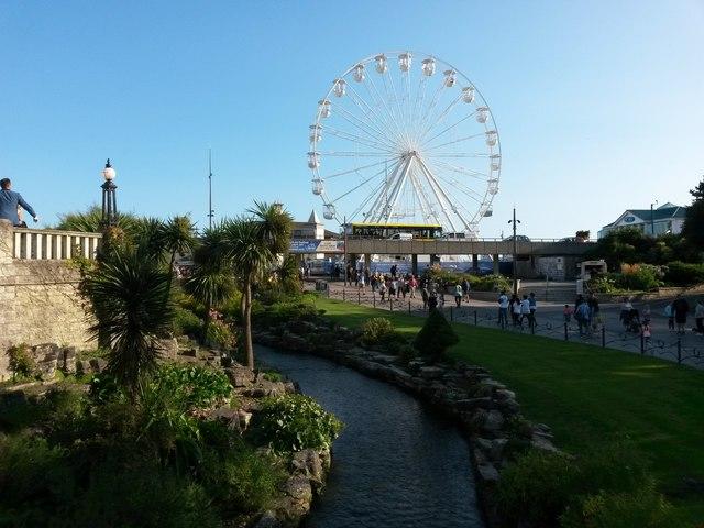 Bournemouth: towards the big wheel