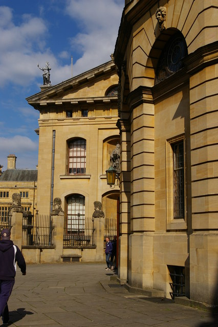 Sheldonian Theatre and Clarendon Building, Oxford