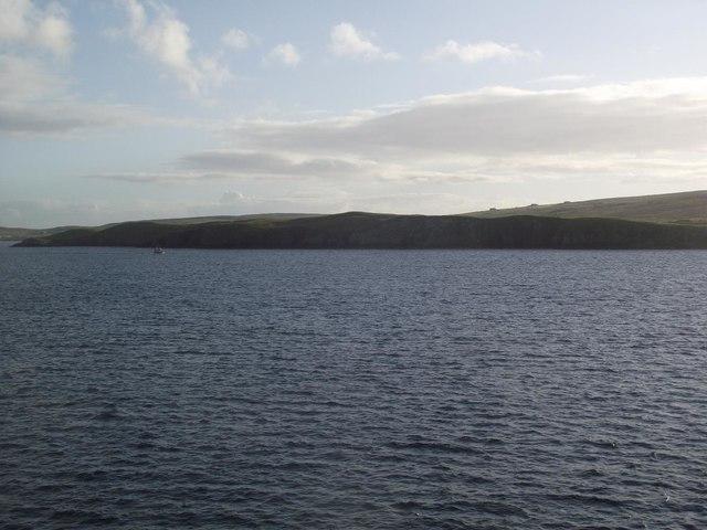 Cliffs near Green Head and Hevdi