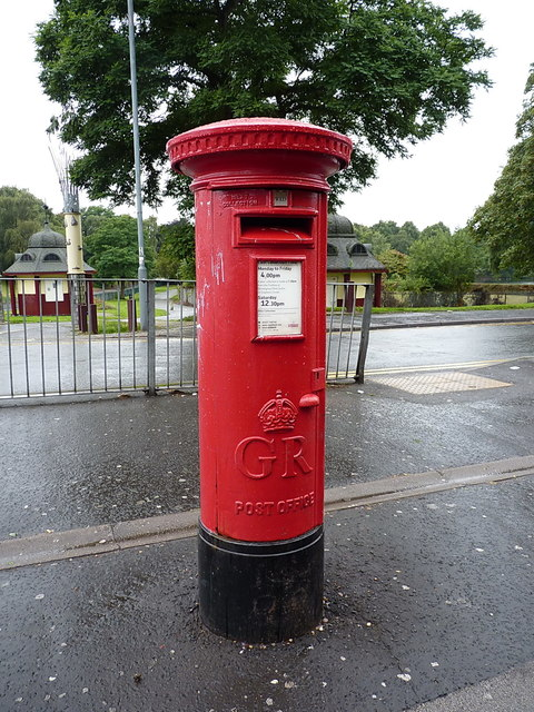 Georgian pillar box on George Road
